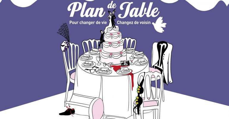 Louise Monot dans plan de table